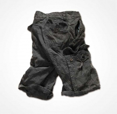 CHECKBOARD SHORTS - Size L (black)