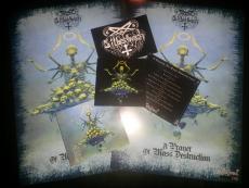 Silberbach - A Prayer Of Mass Destruction, CD DieHard Version + Poster + Sticker  OUT NOW!!!