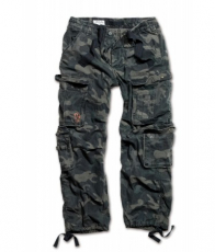 Surplus Airborne Vintage Trousers - Size M (black camo)