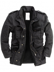 SURPLUS RAW Vintage Herren Paratrooper, Size L (black)