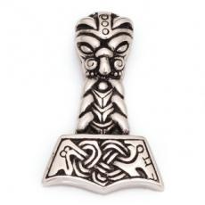 Edelstahlanhänger Thors Hammer