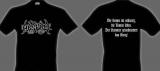 Absurd - black LOGO Shirt, Size M