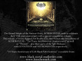 Acherontas - 15 Years Anniversary of Left Hand Path Esoterica