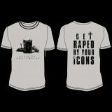 Ad Hominem - Antitheist LOGO Shirt, Size XL