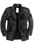 SURPLUS RAW Vintage Herren Paratrooper, Size L (black)