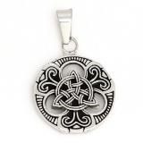 Edelstahlanhäger Keltik Trinity Knoten