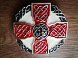 Keltisches Kreuz Gürtelschnalle